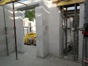 Innenwände fertig gemauert