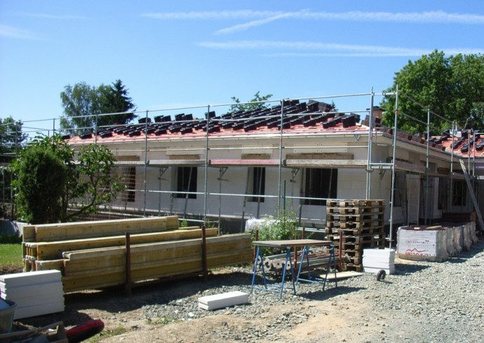 Dach abgedichtet 2