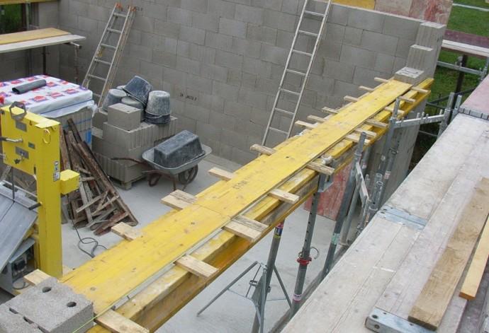 Garage gemauert - Tor vorne