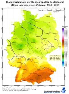 Deutscher Wetterdienst globalstrahlung