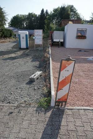 Begrenzung Einfahrt