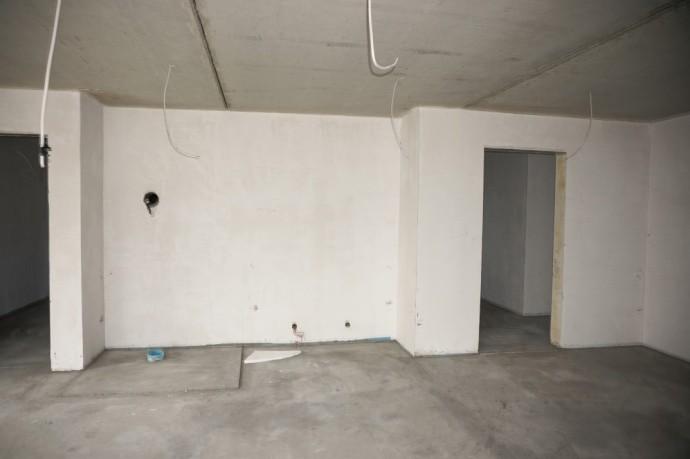Estrich Wohnzimmer Kamin