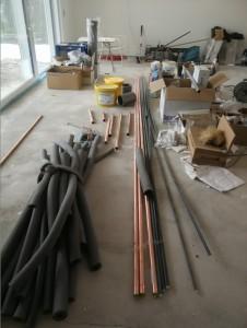 material für wärmepumpe