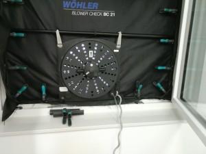 Blower Door Ventilator BC 21 nah