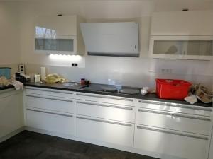 Küchenzeile fertig