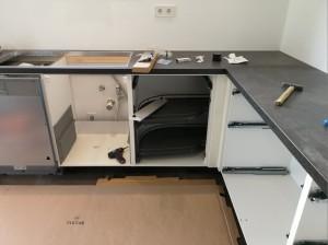 Unterschränke Küche Aufbau