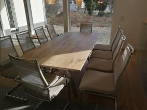 Möbel aufbau Essbereich