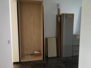 Möbel aufbau Garderobe