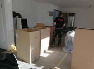 Möbel aufbau